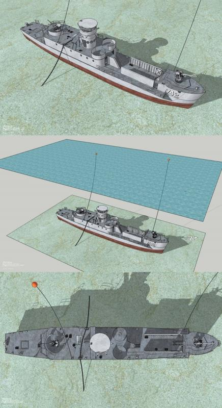 Site Map of HTMS Sattakut - Koh Tao Dive Site, Thailand