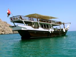 live-aboard dhow
