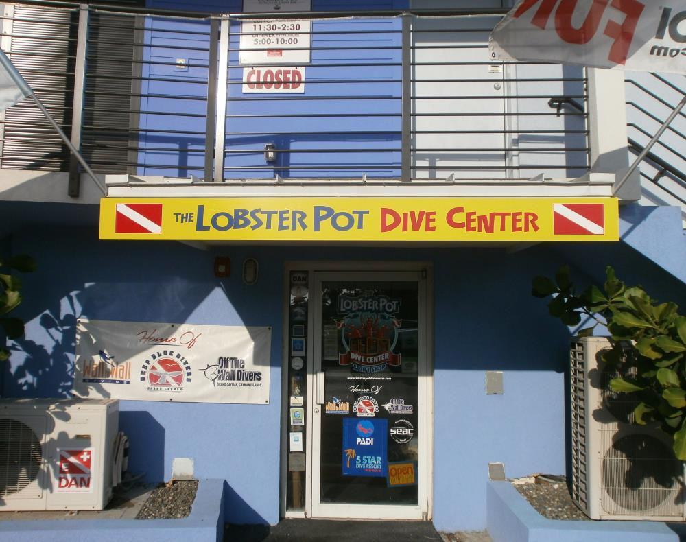 The lobster pot dive center dive shop scuba diving for The dive shop