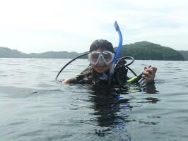 My first open water dive!