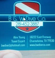 B & W Dive Co.