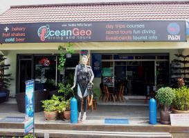 Ocean Geo Diving and Tours shop!