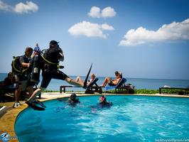 Anti Gravity Divers Swimming Pool Ko Lanta