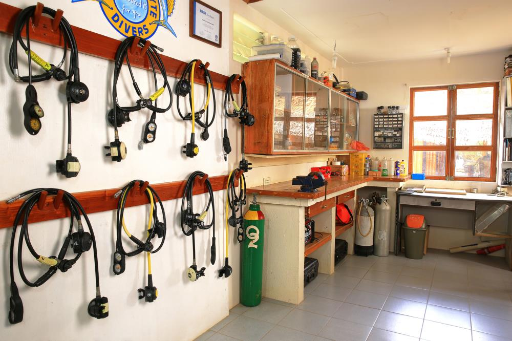 Southern leyte divers dive shop scuba diving in the for The dive shop