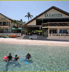 Tropical IDC in La Laguna Beach Club & Dive Centre
