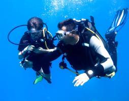 First Scuba dive