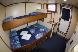 Deluxe Cabin - Upper Deck