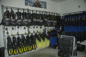 Scubapro school and rental dive equipment