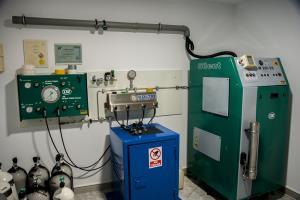 Compressor room air, nitrox and trimix