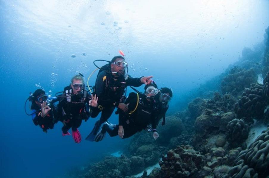 Adventure Scuba Diving Bali - First time