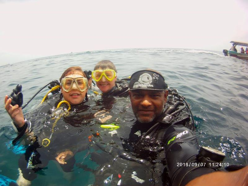 After dive group