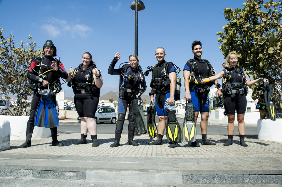 Discover scuba diving, try dive