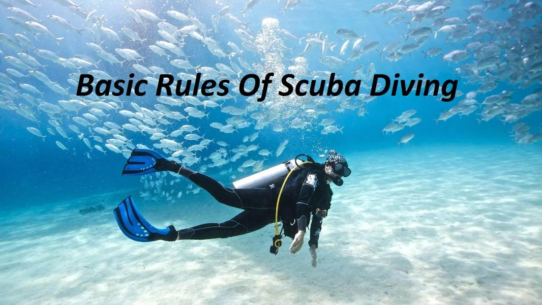 basic rules scuba diving