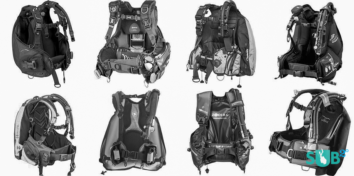 Buoyancy control devices come in many shapes and sizes, but all of them help a diver control their buoyancy while underwater and at the surface.