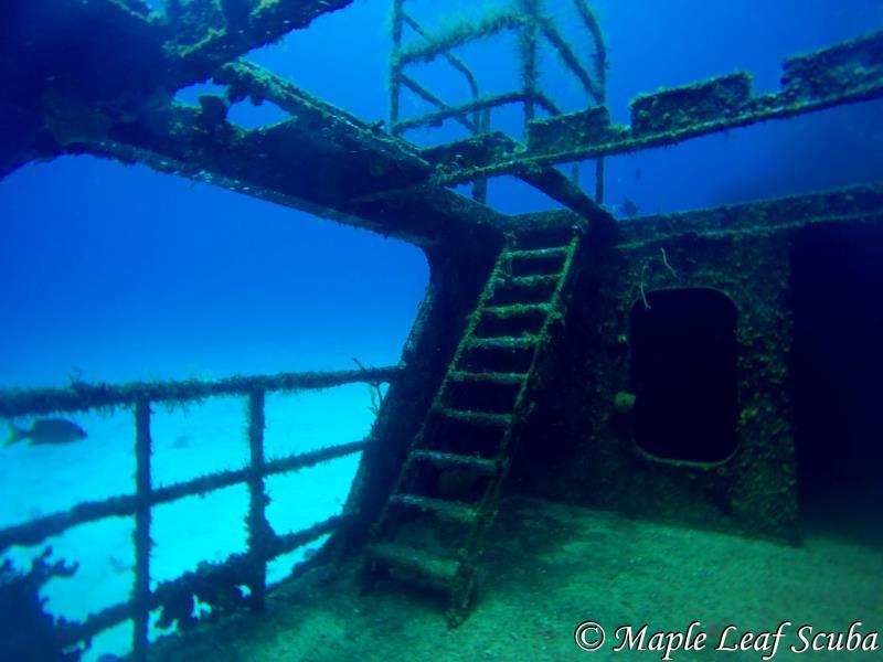 C53 Felipe Xicotencatl |Cozumel | Ship Wreck |Maple Leaf Scuba| Dive Shop