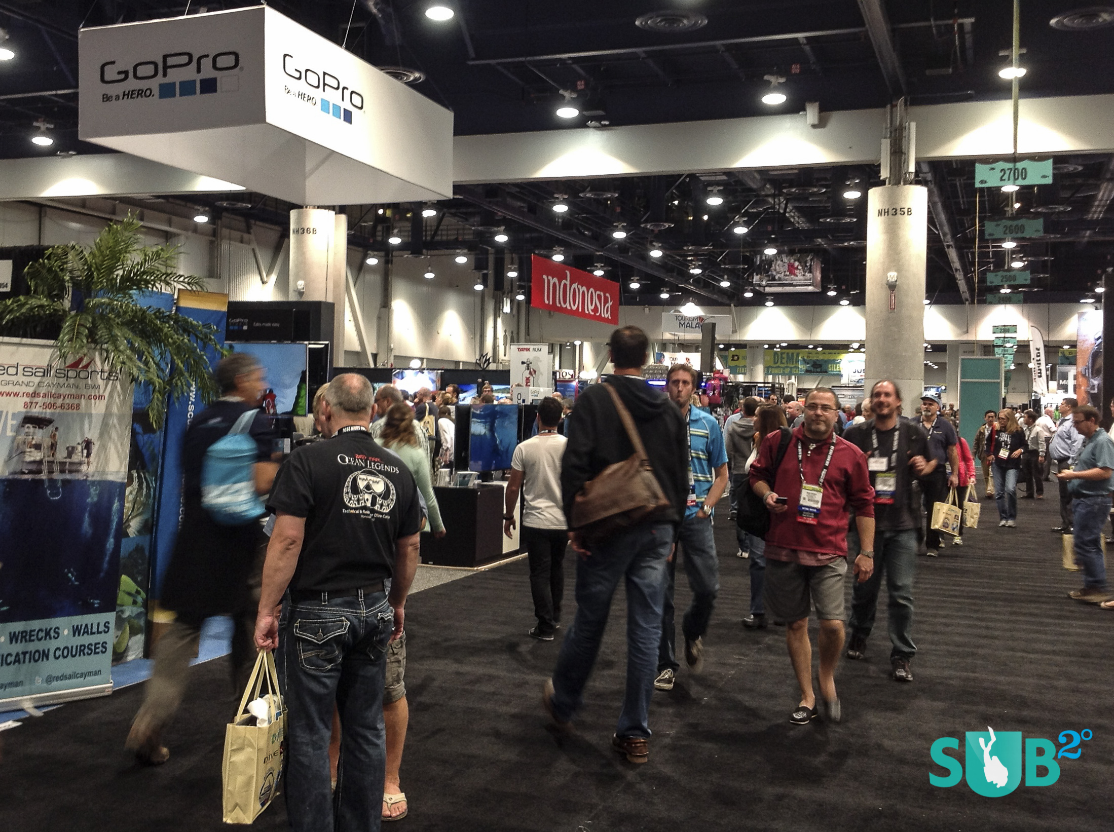 Exploring the many exhibitors at the 2014 DEMA Show in Las Vegas.