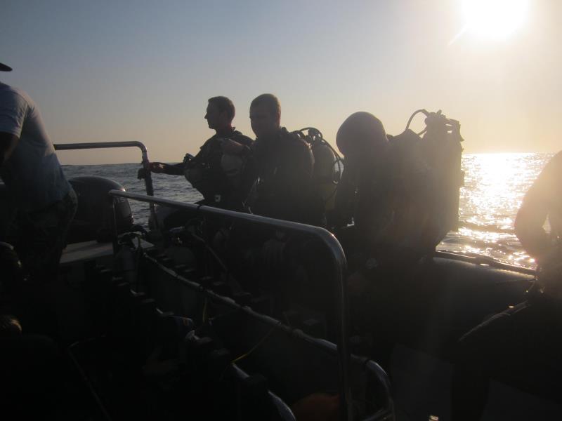 dive end boat