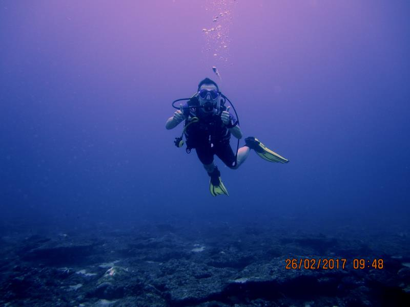 Diver water 1