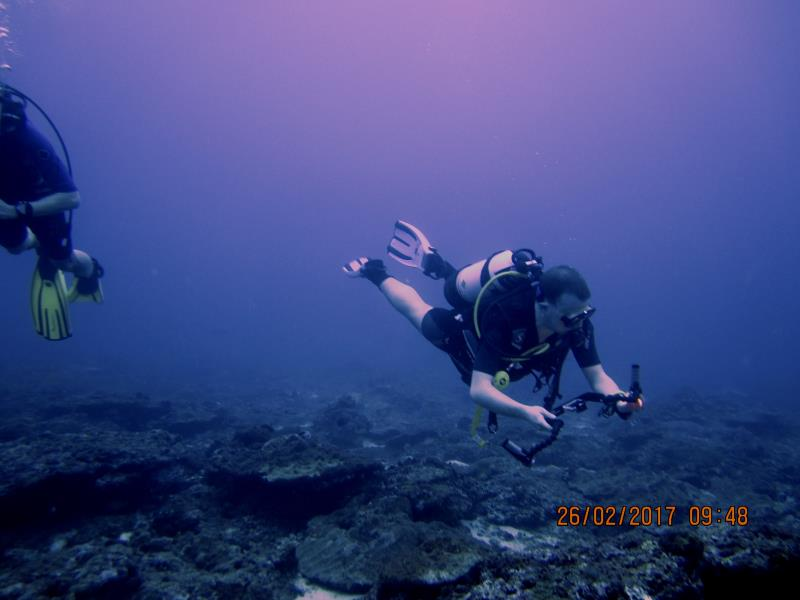 Diver water