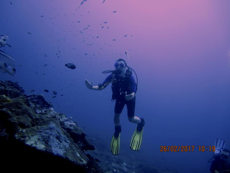 Diver water 3