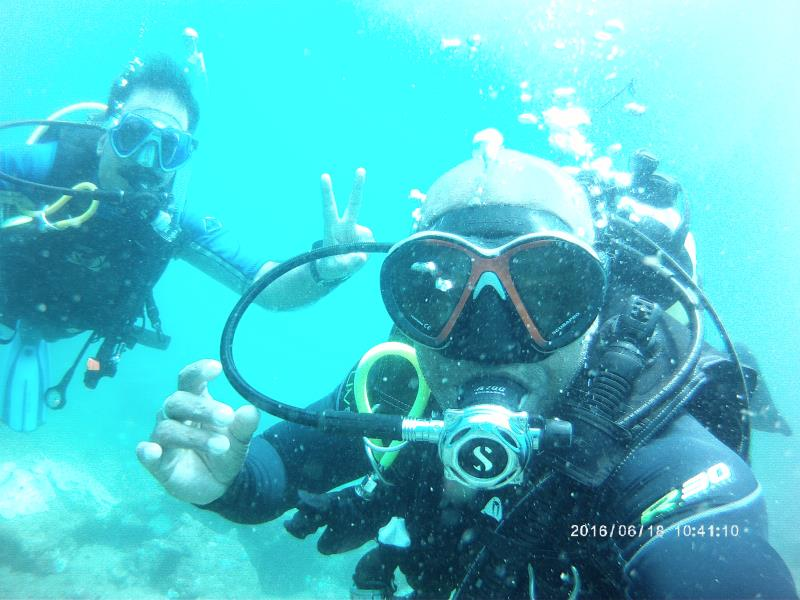 Diving Selfie!