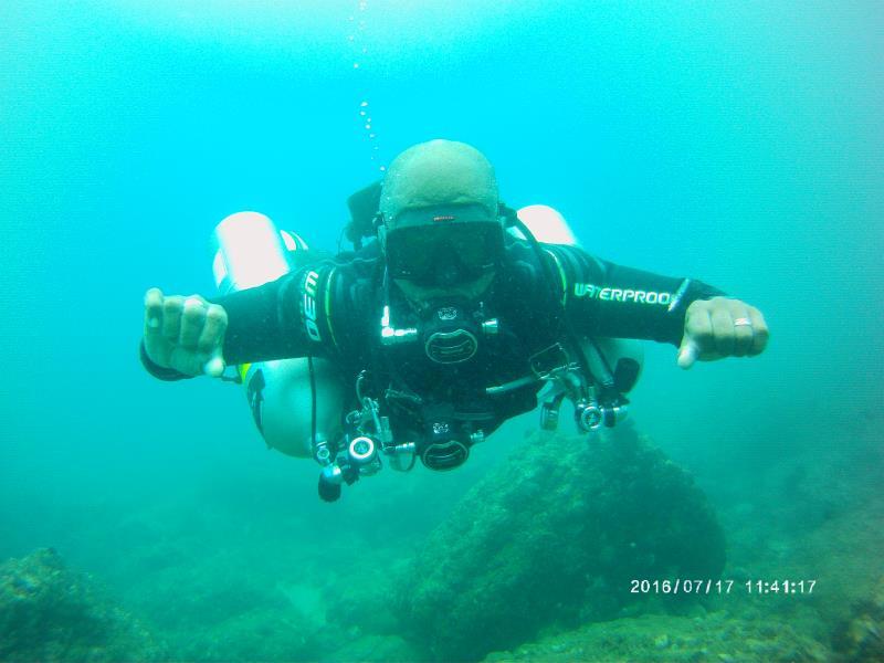 Diving Sidemount
