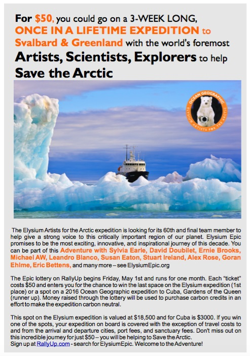 Join us in the Arctic for $50!