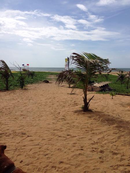 Entrance from the beach - Negombo