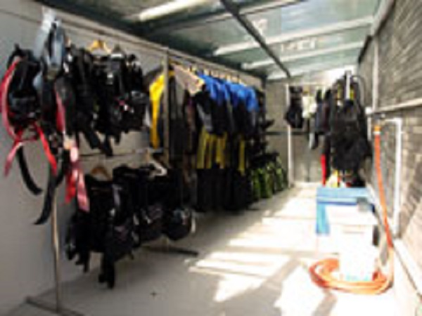 Rental and Training equipment area