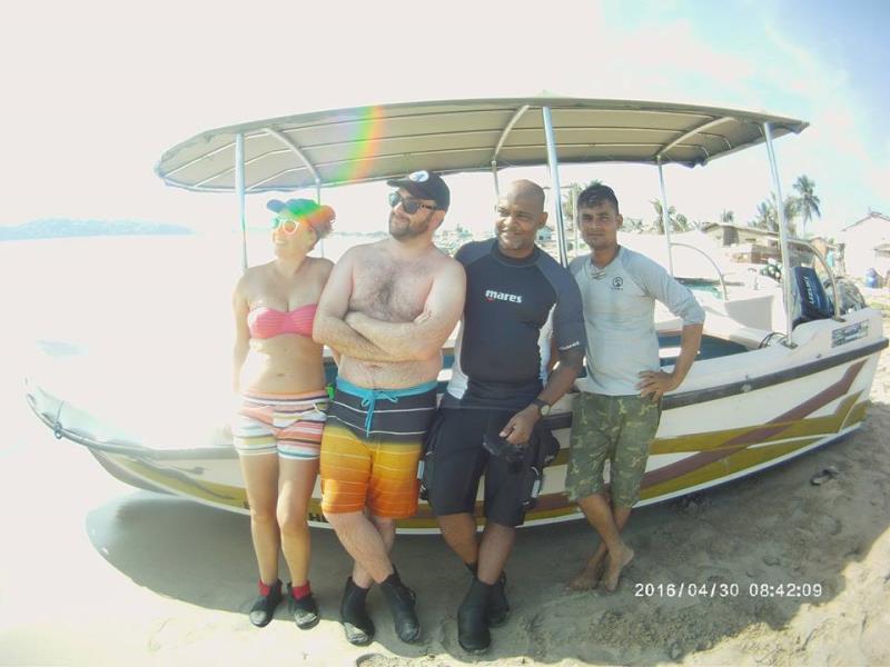 Fun day diving!