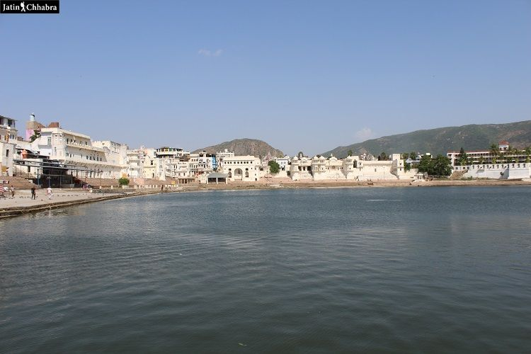 Gau Ghat at Pushkar Lake, Rajasthan