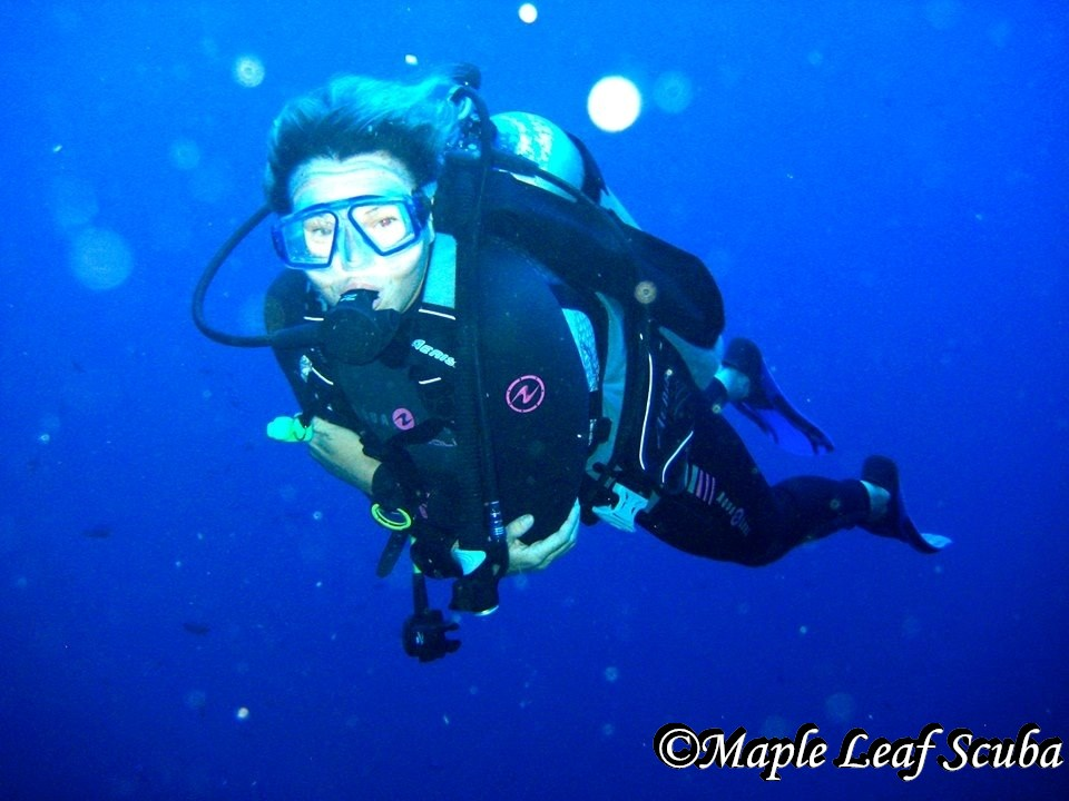 Dive Instructor from Canada