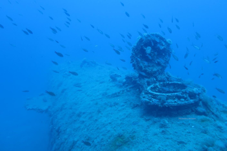 HMS Perseus rear escape hutch