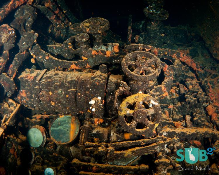 Inside a Wreck