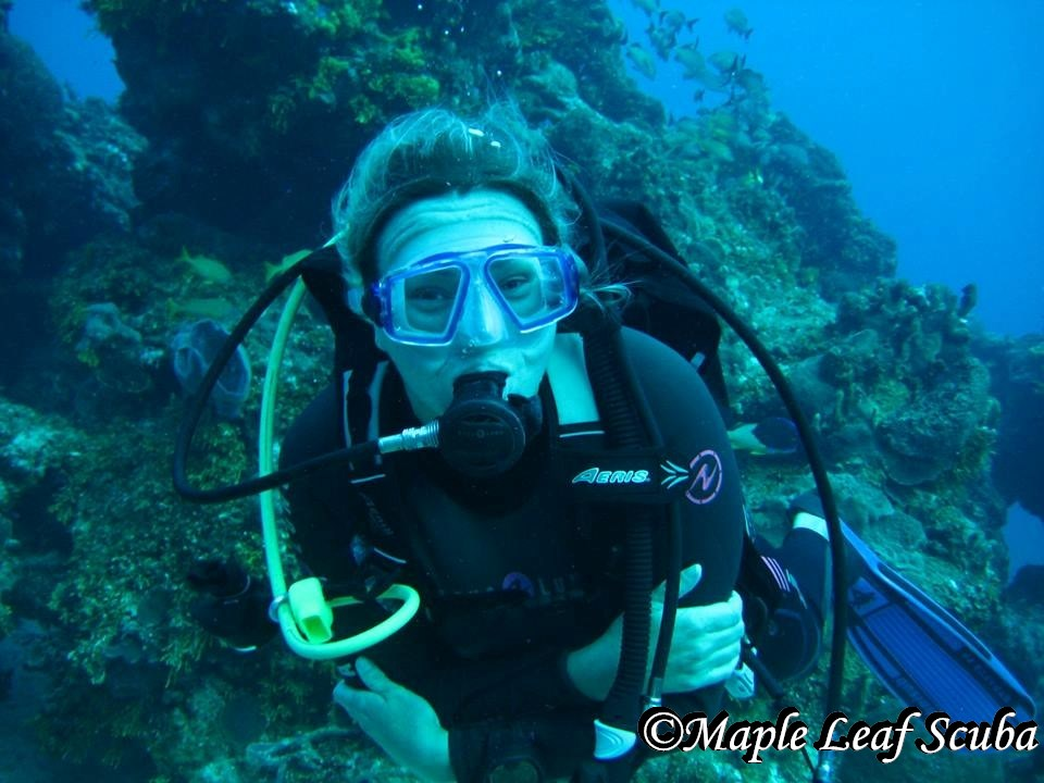 Experienced Instructors at Maple Leaf Scuba Cozumel