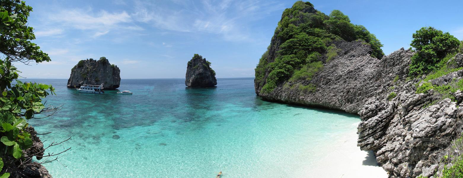 Koh Haa Lagoon Kon-Tiki Diving Thailand