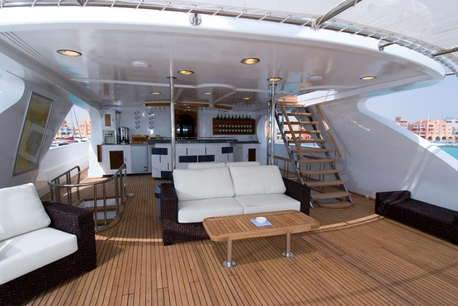 Luxury at sea¬