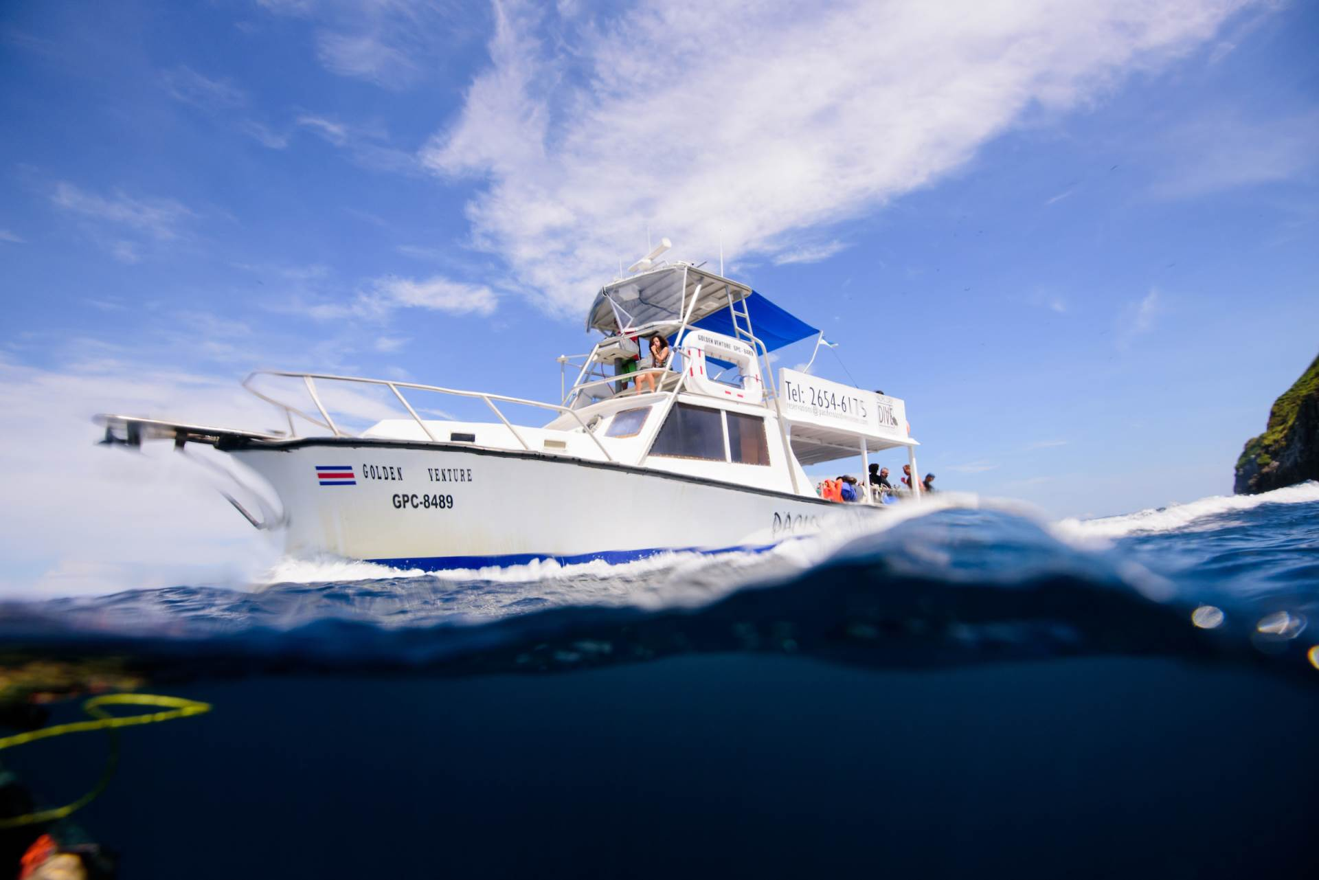 Cristal waters in Catalina Islands and North beaches for beginners and for expert divers.