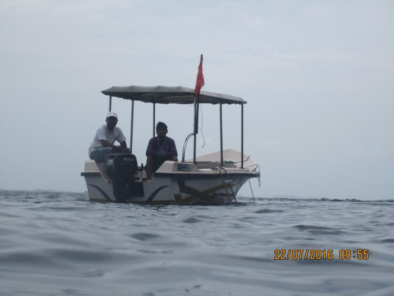 Our boat!