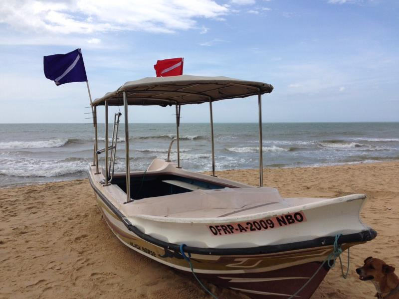 Our boat in Negombo!