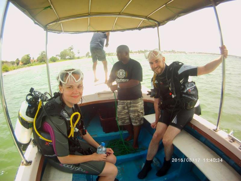 Our latest Discovery Scuba students!