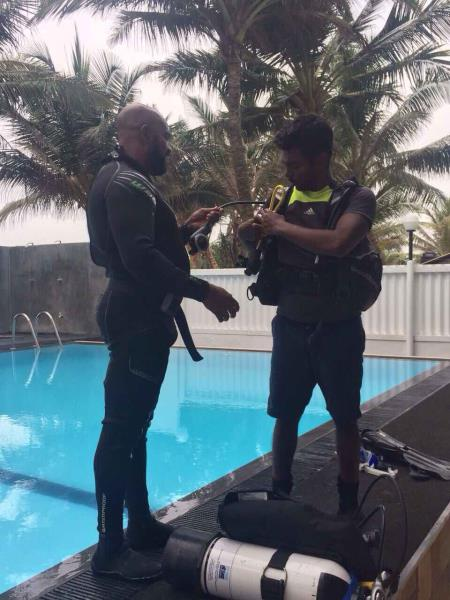 Pool training 2