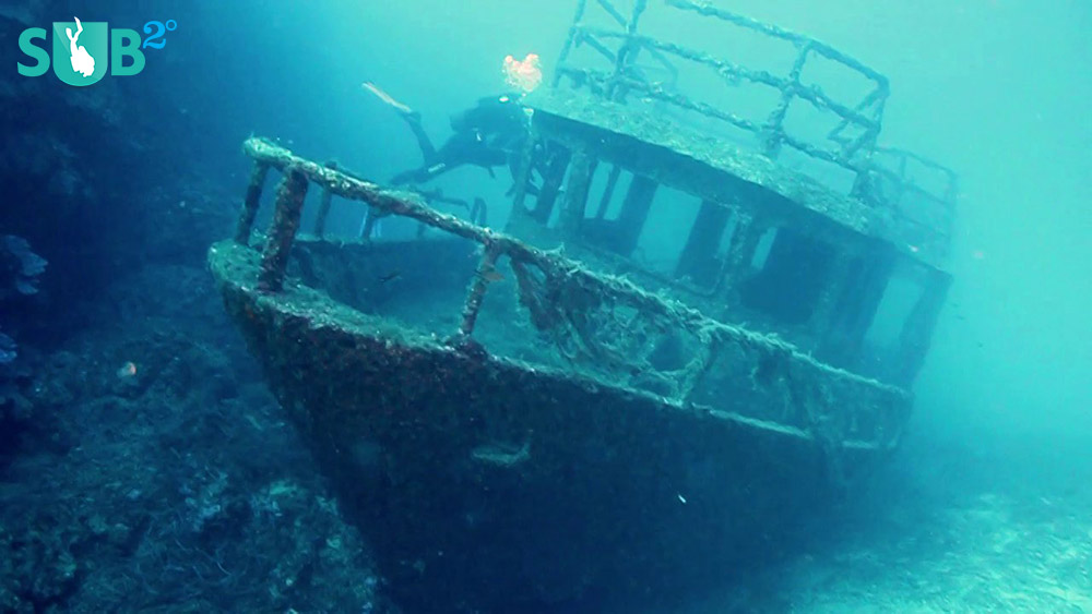 Wreck divers will also enjoy the spectacular view of the wreck Tomislav.