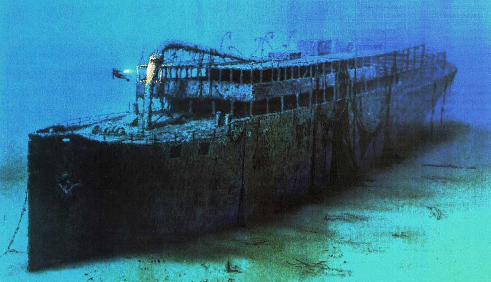 "One of the most spectacular wrecks is that of Baron Gautsch, which is often referred to as the ""Titanic of the Adriatic Sea""."