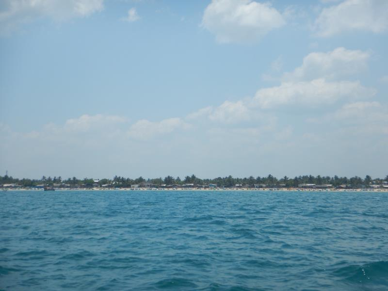 View from sea!