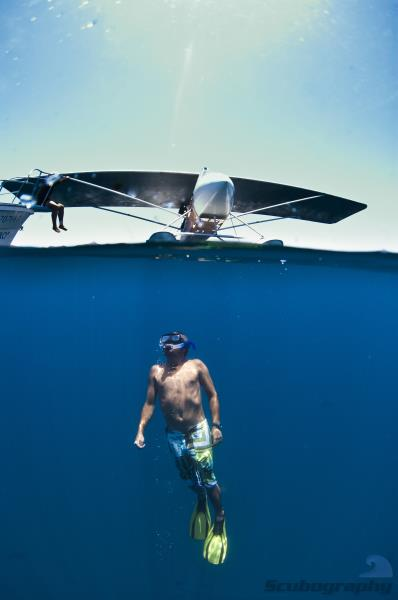 Waterplane and pilot