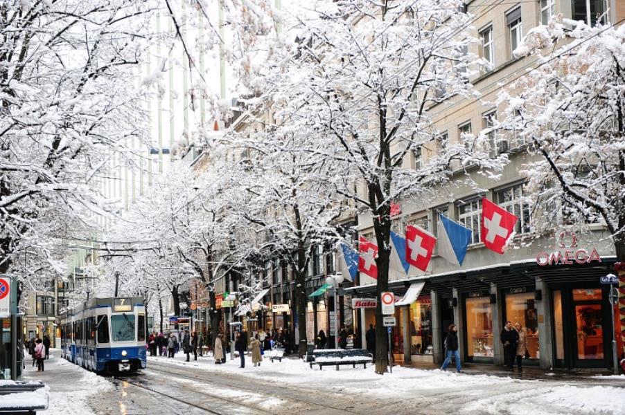 Zurich in Winter