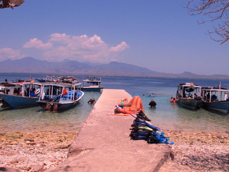 Site Map of Menjangan Island Dive Site, Indonesia