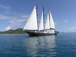 Sea Star on sail
