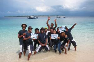 Blue Marlin Gili Meno Staff